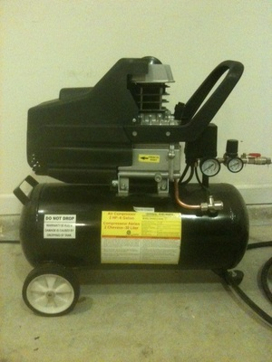 2 HP 8 Gallon Air Compressor rental Atlanta, GA