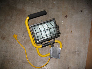 High Power Halogen Work Light rental Austin, TX