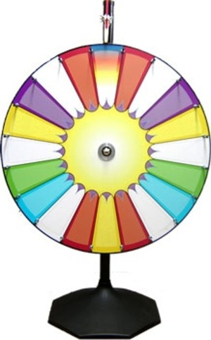 "36"" Prize Wheel - Money Wheel - Wheel of Fortune rental Austin, TX"