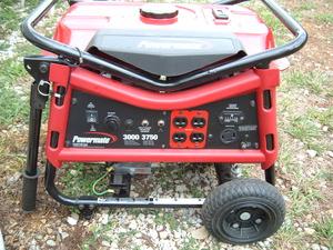 powermate 3000 watt generator rental Springfield, MO