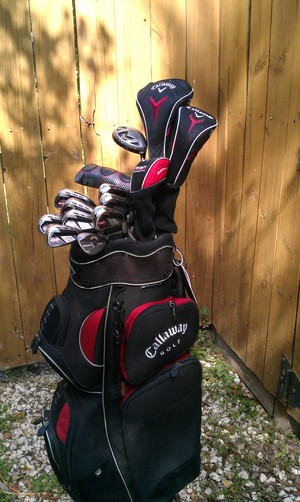 Callaway RAZR Golf Clubs rental Austin, TX