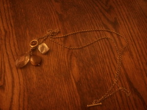 Lia Sophia Gold chained necklace rental Harrisburg-Lancaster-York, PA