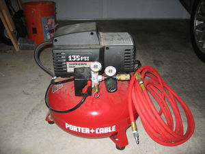 135 PSI Porter Cable Air Compressor rental Austin, TX