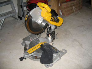 Dewalt - Double Compound Miter Saw rental Austin, TX