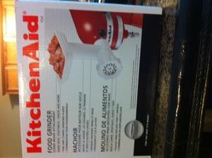 Kitchenaid Food Grinder Attachment rental Baltimore, MD