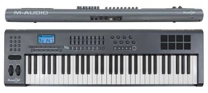 Midi Keyboard M-Audio Axiom 61 rental Los Angeles, CA