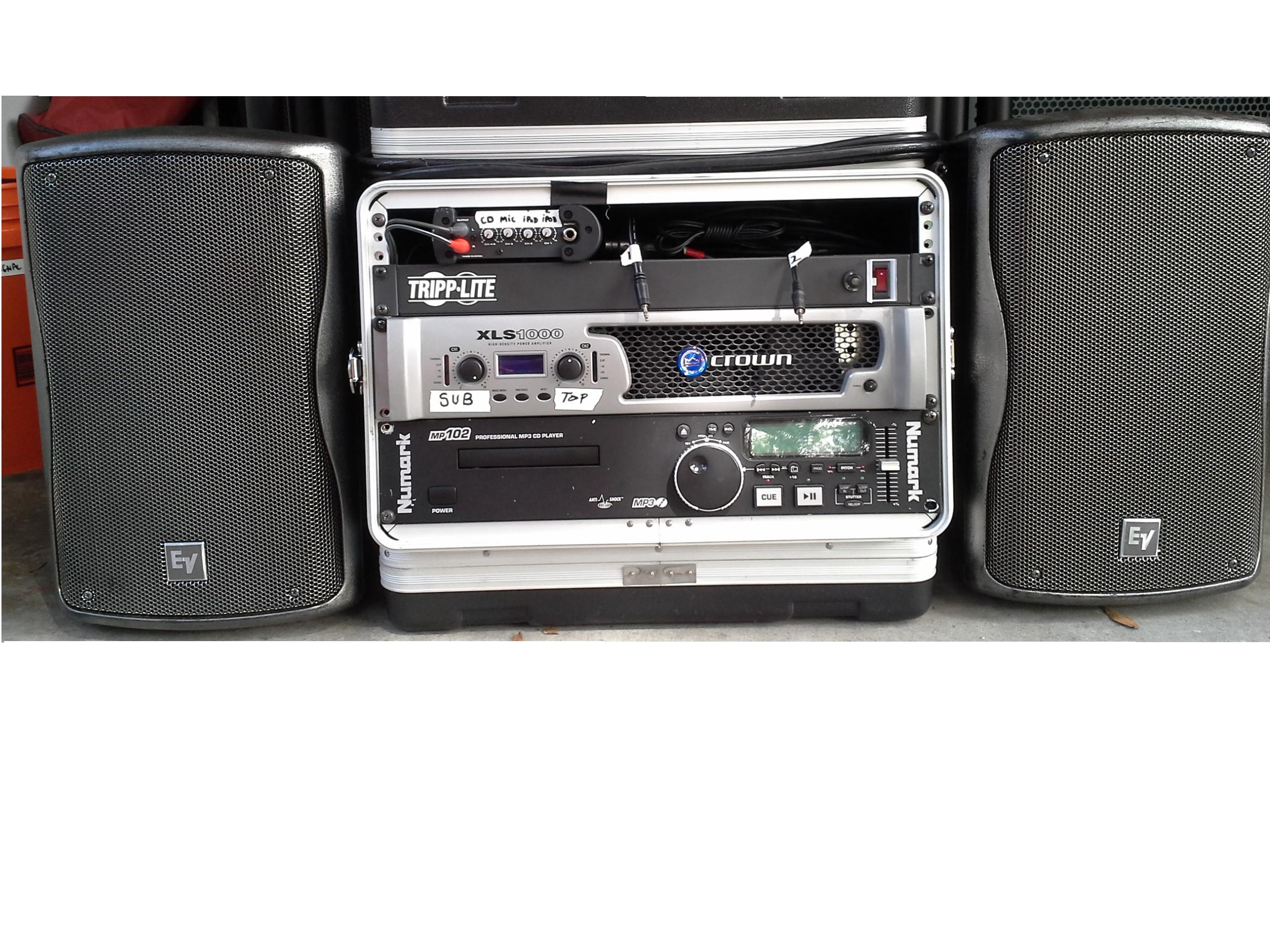 Loanables Audio Sound System Dj Equipment Rental Located