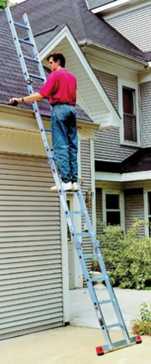 Climbtek 16' Articulating Folding Aluminum Ladder rental Rochester, NY