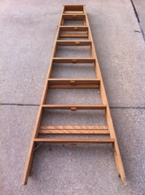 8' Wooden Ladder rental Dallas-Ft. Worth, TX