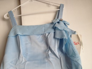 "XL, light blue, long, Dress by ""Let's fashion"" rental San Francisco-Oakland-San Jose, CA"