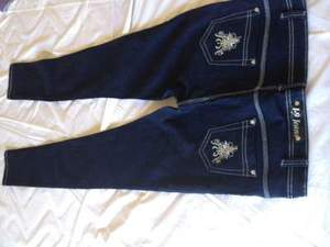 Designer's, Skinny, Embroidered Fashion Jeans, wai rental San Francisco-Oakland-San Jose, CA