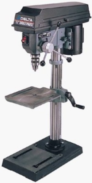 "Delta Drill Press 12"" desktop rental Austin, TX"