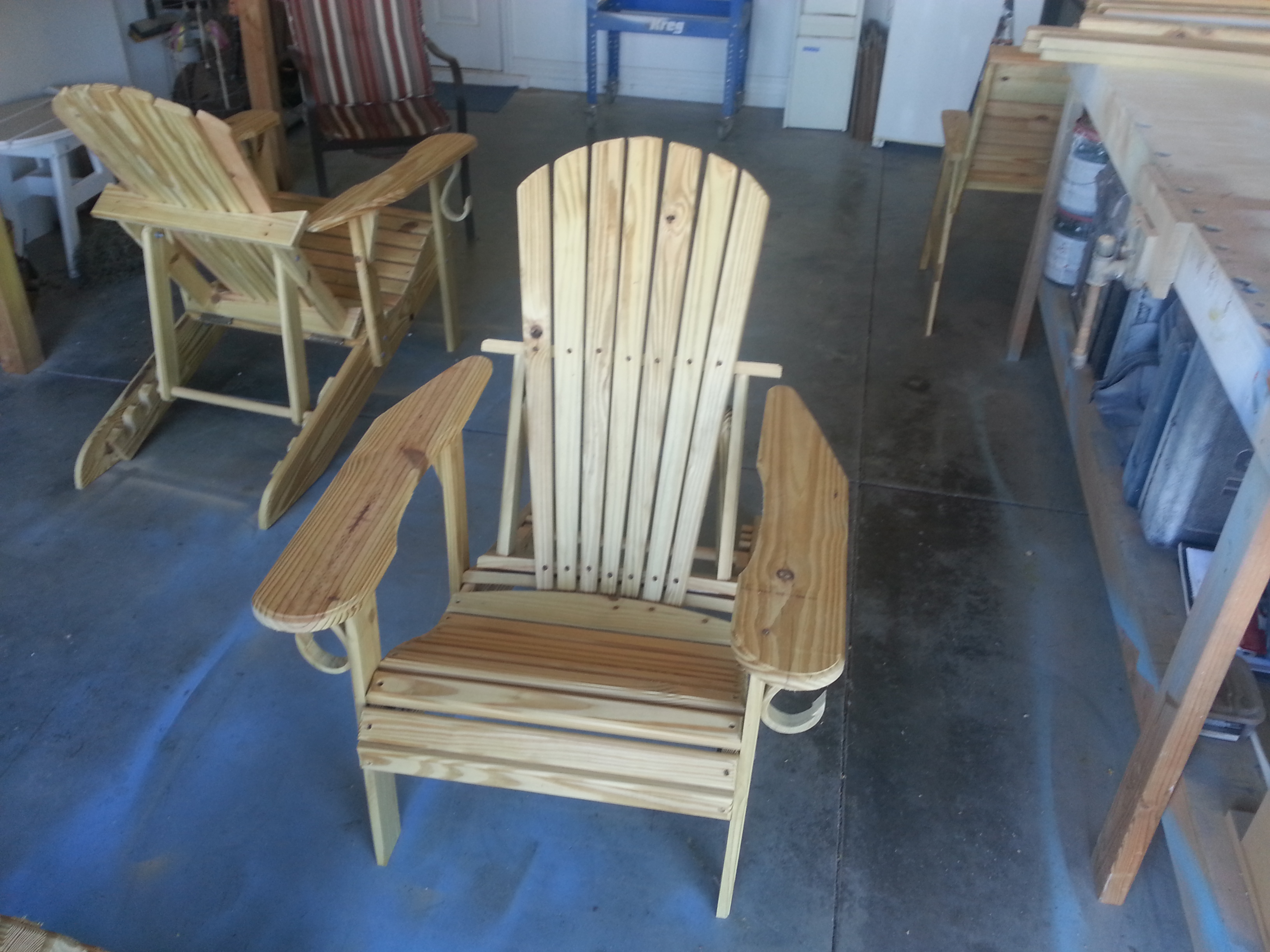 Loanables Adirondack Chairs Rental Located In Cape Coral Fl