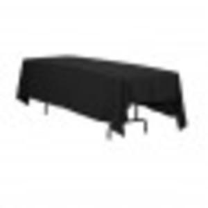 Black Rectangular Tablecloth 70 X 120  rental West Palm Beach-Ft. Pierce, FL