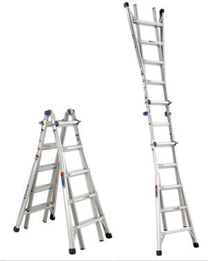 Werner 22 ft. Aluminum Multi-position Ladder rental Atlanta, GA