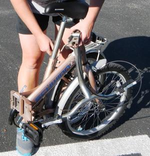 Schwinn Hinge Folding Bicycle rental Tampa-St Petersburg (Sarasota), FL