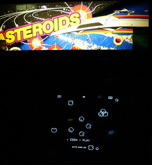 Atari Asteroids Arcade Game  rental New York, NY