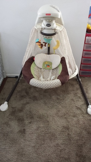 Fisher-Price - Starlight Papasan Cradle Swing rental Los Angeles, CA