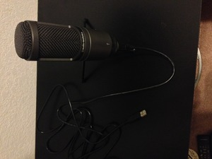 Audio Technica 2020 USB Microphone rental Dallas-Ft. Worth, TX