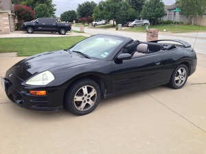 Mitsubishi Eclipse Convertible rental Dallas-Ft. Worth, TX