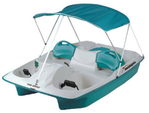 Sun Dolphin Adjustable 5 Seat Pedal Boat rental Tampa-St Petersburg (Sarasota), FL
