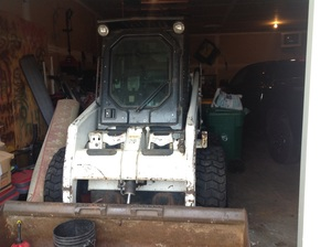 Bobcat 853 skid loader rental Minneapolis-St. Paul, MN