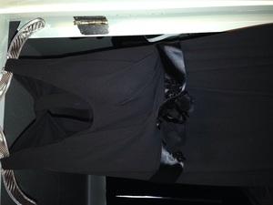 Vera Wang evening gown (size 2 black) rental Nashville, TN