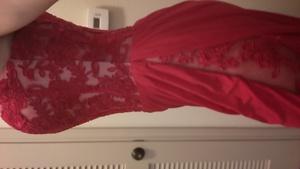 Gorgeous red dress rental Houston, TX