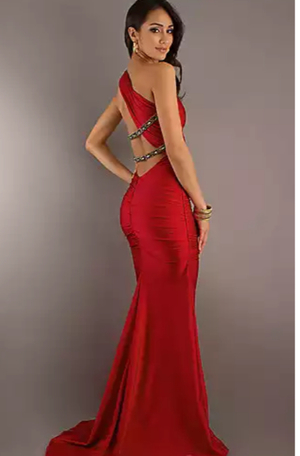 Red prom dress/ evening gown rental Philadelphia, PA