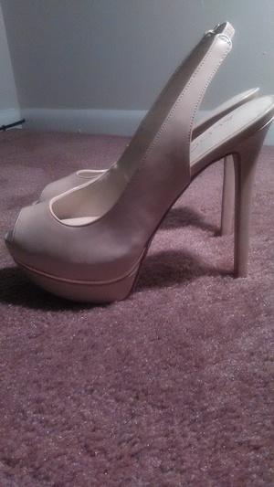 Tan slingback heels rental Philadelphia, PA