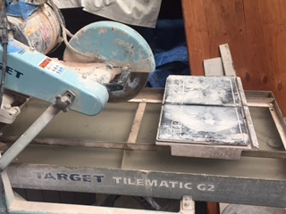 Loanables Target Tile Wet Saw Located In Oakland Ca