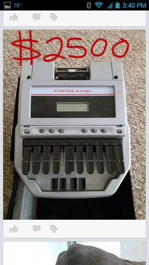 stenography machine  rental Cincinnati, OH