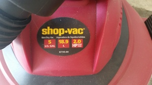 2HP 5Gal Wet/Dry ShopVac rental Los Angeles, CA
