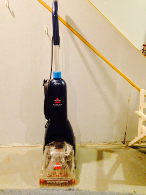 bissell carpet shampooer how to use