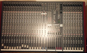 Allen & Heath ZED-428 24 mic/line live sound mixer rental New York, NY