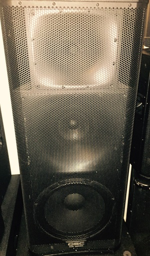 QSC KW153 1000 Watt 15 Inch 3-Way Active Loudspeak rental New York, NY