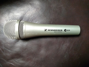 Sennhesier E838 stage mic rental Detroit, MI