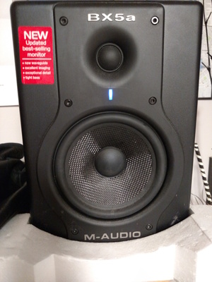 (2) m-audio BX5 speakers rental Detroit, MI