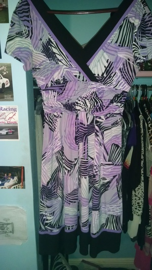 purple and black dress rental Mobile, AL-Pensacola, FL