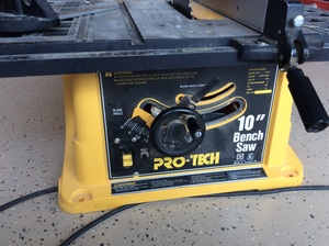 "Portable 10"" Table Saw rental Orlando-Daytona Beach, FL"