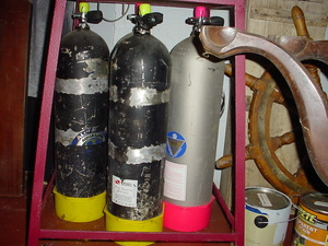Scuba Tank Aluminum 80 rental Montgomery (Selma), AL