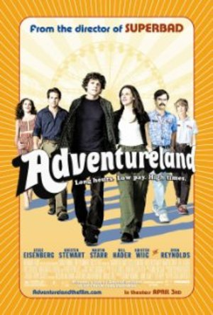 Adventureland - DVD (2009) J. Eisenberg K. Stewart rental Boston, MA-Manchester, NH