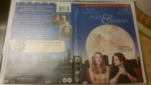 Alex & Emma - DVD (2003) Luke Wilson, Kate Hudson rental Boston, MA-Manchester, NH