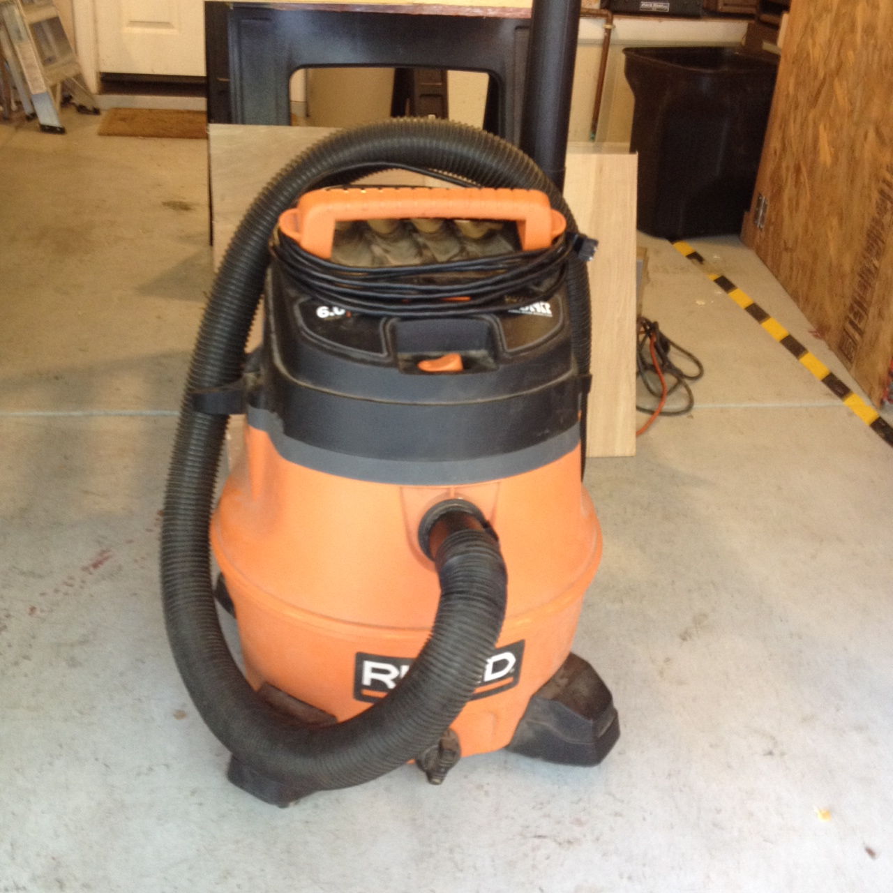 Ridgid Shop Vac Casters >> Loanables:Ridgid 6HP Shop Vac Shop located in Boulder Creek, CA