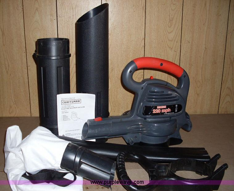 Craftsman Leaf Blower Electric Vac 28 Images The