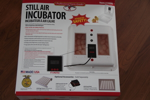 Still Air Incubator rental Traverse City-Cadillac, MI