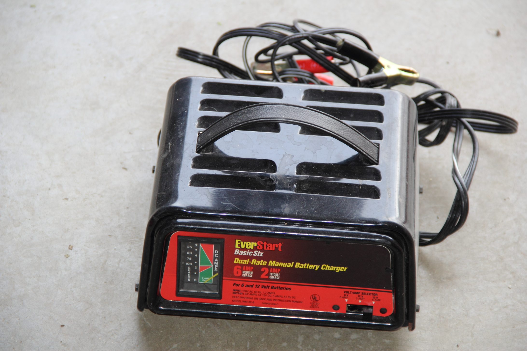 Everstart starter 50 battery charger Manual