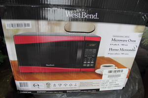 West Bend Microwave Oven  rental Traverse City-Cadillac, MI