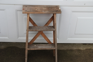 Small Wood Step ladder rental Traverse City-Cadillac, MI
