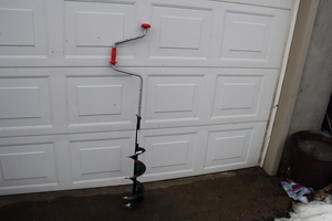 Manual Ice Auger for Ice Fishing rental Traverse City-Cadillac, MI